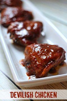 Quick and Easy Devilish Chicken Recipe