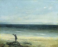 Gustave Courbet, Le bord de mer à Palavas, 1854