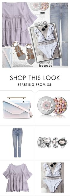 """""""All Denim, Head to Toe"""" by vanjazivadinovic ❤ liked on Polyvore featuring M2Malletier, Guerlain, GRLFRND, Valentino, polyvoreeditorial, zaful and SNEAKERSANDDRESSES"""