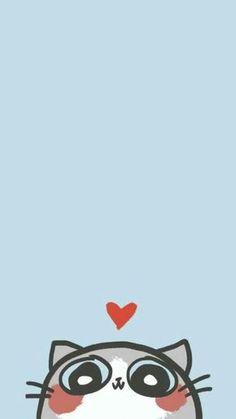 40 Ideas For Cats Cartoon Wallpaper Iphone Wallpapers Wallpaper Gatos, Tier Wallpaper, Cute Girl Wallpaper, Cute Wallpaper For Phone, Kawaii Wallpaper, Cute Wallpaper Backgrounds, Screen Wallpaper, Wallpaper Ideas, Wallpapers Android