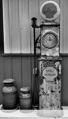 {old gas pump} this is so raw.  love it