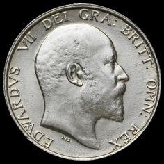 1910 Edward VII Silver Shilling