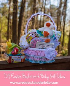The 250 best diy easter basket images on pinterest easter baskets easter gift ideas for baby negle Choice Image