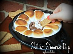 Skillet Smores Dip by Bacca Bakes