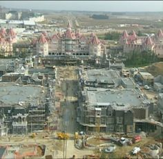 Building Euro Disneyland (now Disneyland Paris) - Mainstreet USA