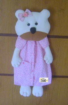 Porta Pijama Ursinha