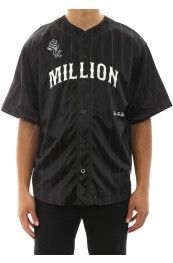 Million Baseball Jersey Black