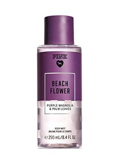 c73317220 Victoria s Secret Pink Beach Flower Body Mist 8.4 Ounces ... https
