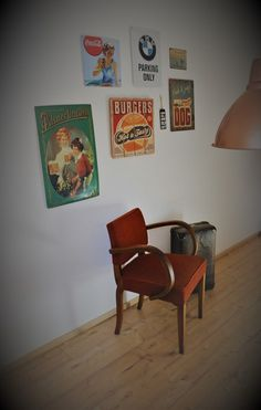 Vintage Stühle - Mid Century Design Stuhl - ein Designerstück von Pfaennle bei DaWanda Burger Dogs, Mid Century Design, Lounge, Rockabilly, Designer, Gallery Wall, Home Decor, Awesome Chairs, Vintage Chairs