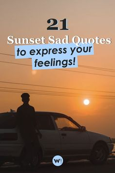 It's ok to be sad sometimes. Even when watching the sunset. Are you looking for sunset sad quotes to express your feelings? Or maybe in need of sad sunset quotes to help you cheer up? I've got exactly what you need! sunset deep quotes | sunset deep thoughts Sunset Quotes, Deep Quotes, Sad Quotes, Life Quotes, Love Thoughts, Funny Thoughts, Inspirational Quotes About Love, Quote Aesthetic, Be Yourself Quotes