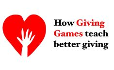 How do Giving Games teach better giving? By focusing in on a select number of effective charities and creating an atmosphere where participants vote to decide which charity receives a donation (typically sponsored by a third party) Giving Games encourage people to really question the effectiveness of the charities being discussed. #effectivealtruism #thelifeyoucansave #philanthropy #petersinger