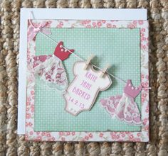 New Baby Girl Personalised by LittleBOD on Etsy
