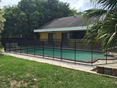 Pool Fence Flagler Beach FL - Baby Barrier pool fence is built to withstand all the extreme weather changes! #PoolSafetyFence #PoolSafety #BabyBarrier