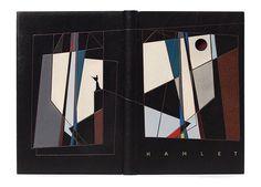 Hamlet bound by Derek Hood for the Designer Bookbinders International Competition - Shakespeare 2013