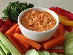 Simply Thermomix Blog: Roasted Red Pepper Hommus in the Thermomix