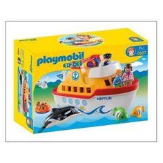 Playmobil 1.2.3 6957 Navire transportable - Playmobil - Soldes 2016 Fnac.com