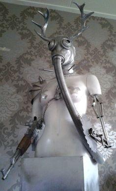 Biomechanic soldier