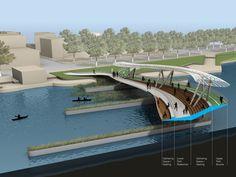 WXY architecture + urban design_The Providence River Pedestrian Bridge_Usa