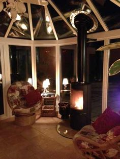 Westfire 26 and Selkirk flue installation Small Gas Fireplace, Home Fireplace, Fireplace Surrounds, Fireplaces, Garden Room Extensions, House Extensions, Log Burning Stoves, Wood Burning, Outdoor Wood Burner