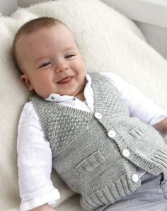 Baby Boy Knit Waistcoat Sweater Newborn to all by TanyasBunnyTots, $19.00