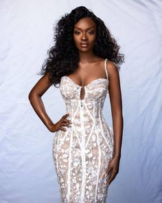 African Lace Dresses, African Dresses For Women, Banquet Dresses, Ball Gown Dresses, Elegant Outfit, Classy Dress, Long Kimono Outfit, Box Braids Hairstyles For Black Women, Lace Gown Styles