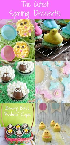 The Cutest Spring Desserts collected by The NY Melrose Family