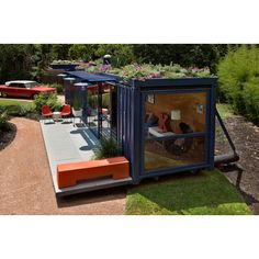 another shipping container house :)