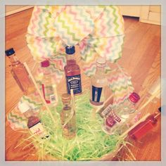 The mans easter basket great idea with the cigars easter easter basket for your boyfriendhusband better than candy negle Gallery