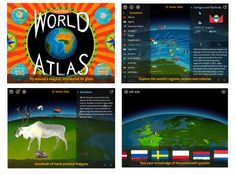 Studying a country, state or region? Let Barefoot Atlas help with it's stunning graphics, fun puzzles, and factual information.