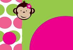 Divertido Kit de Monitas para Imprimir Gratis. | Ideas y material gratis para fiestas y celebraciones Oh My Fiesta!