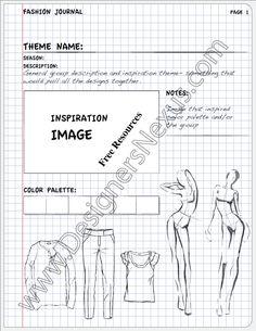 Fashion Portfolio Layout Examples V9 - Designers Nexus