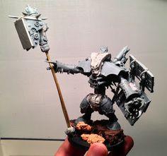 Ten Inch Template: Rogue Trader Chaos Dreadnought Conversion