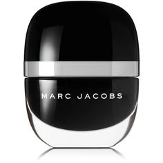 Marc Jacobs Beauty Enamored Hi-Shine Nail Lacquer - Blacquer (1.060 RUB) ❤ liked on Polyvore featuring beauty products, nail care, nail polish, nails, beauty, black, filler, marc jacobs, glossy nail polish and shiny nail polish