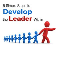 ...And the steps are: *Listening *Being a Team Player *Give them a vision *Confidence *Respectful