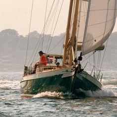 Por las aguas de Newport.