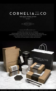 CORNELIA and CO [ Brand identity & Packaging ] by Oriol Gil #branding…