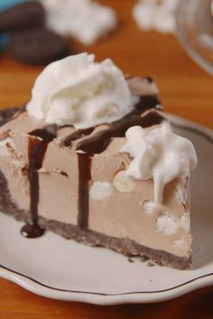 Take your hot chocolate obsession from winter to summer with this cheesecake.