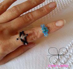 Anellini fatti a mano #elenashands #handmade #anelli #handmade#handmadejewelry