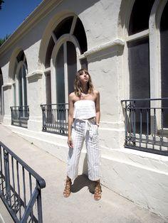 Unconscious Style    Stephanie Arant @shhtephs street style fashion blogger striped set resort JOA