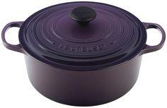 Purple French cast iron.