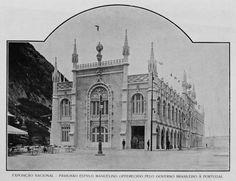 Pavilhão estilo Manuelino. Exposição Nacional de 1908.