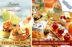 Feast on your English and Irish favourites at The Bonnington Friday Brunch at Cavendish Restaurant with unlimited house beverages for AED 149 (Value AED 299) – Kids under 6 eat for free!