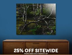 Discover «The Swamp», Limited Edition Aluminum Print by Glink - From $99 - Curioos