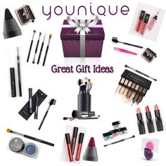 The perfect gifts for any friend or family member- naturally based cosmetics! www.ThatYouniqueLashGirl.com