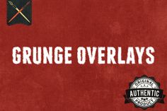 12 Grunge Overlays Textures by Charles Perrault Artworks on Creative Market