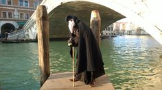 Dottore della peste, carnevale di Venezia 2015. Plague doctor, Venice carnival 2015.