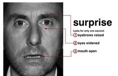Dr. Cal Lightman (Tim Roth), the world's leading deception expert portrays one of the seven universal micro-expressions.