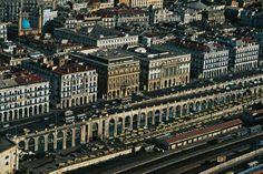 90's - The downtown (Algiers, Algeria)