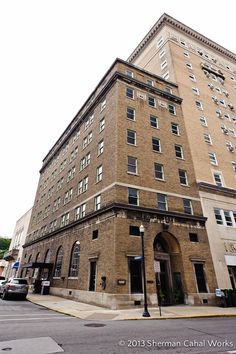 The Commercial Bank Building Was Completed In 1922 At 401 Federal Street Downtown Bluefield West Seven Story Brick Is Designed