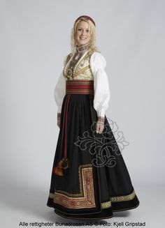 Beltestakk fra Telemark - BunadRosen AS Folk Costume, Costumes, Norwegian Clothing, Norwegian Style, Scandinavian Fashion, Medieval Dress, Summer Outfits Women, Ethnic Fashion, Traditional Dresses